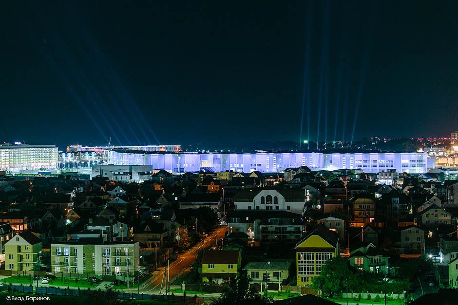 Ночной Адлер, Олимпийский парк