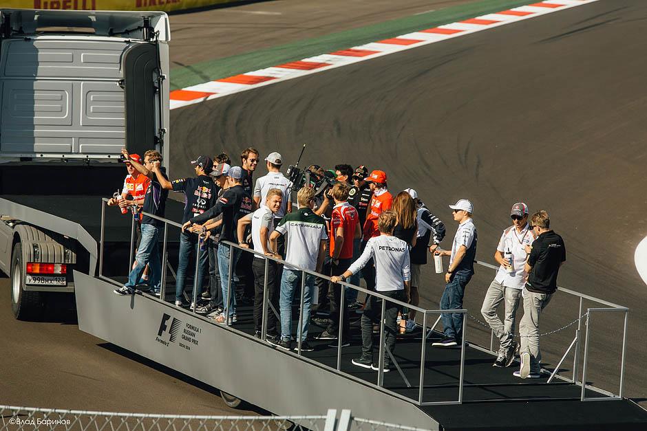 Лучшие фотографии с Формула-1 Сочи