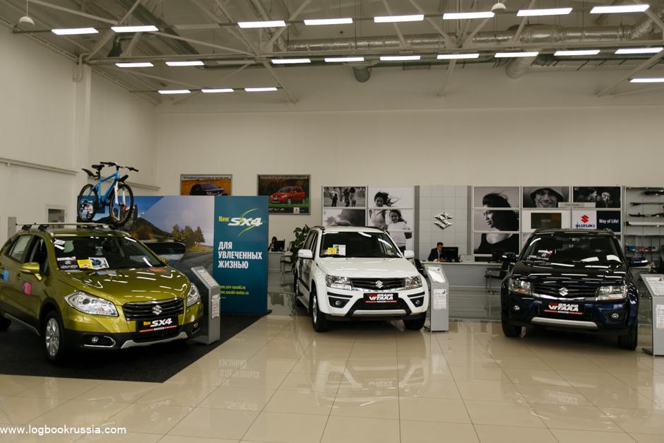 Подготовка машины Suzuki SX4