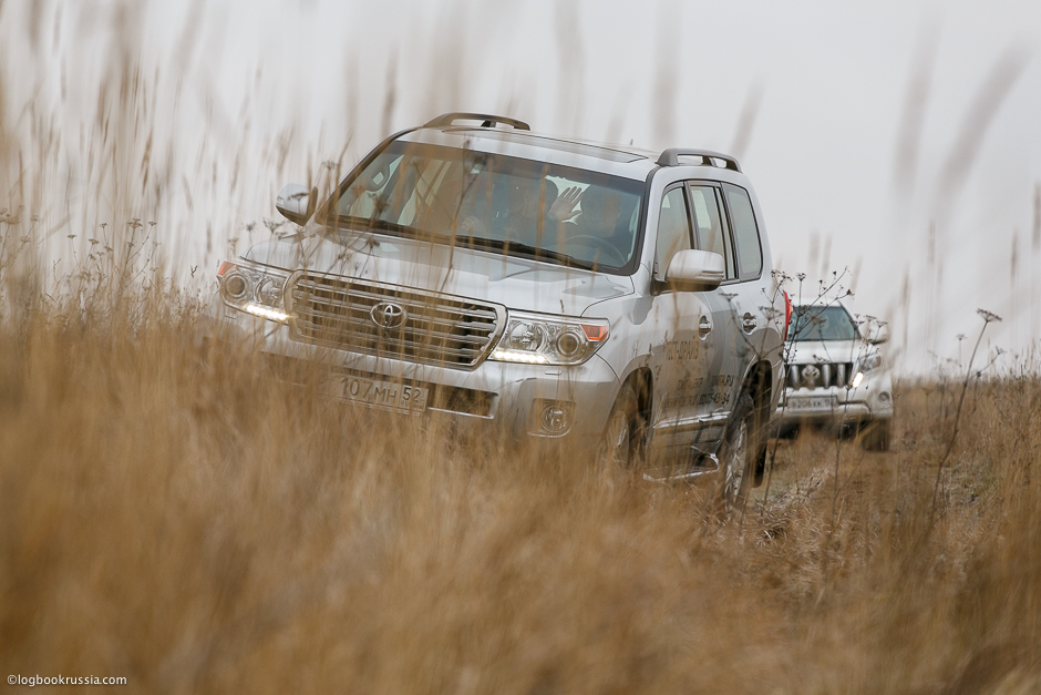 Тест драйв Toyota