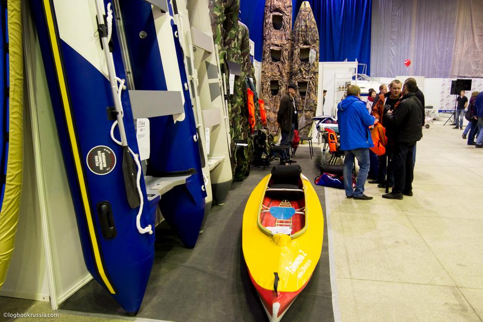 Лодки на выставке Нижегородская ярмарка, Охота. Рыбалка. Отдых.