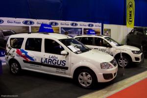 Largus на выставке