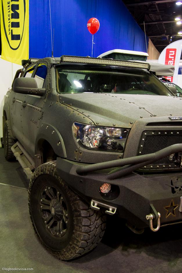 Toyota Hilux после автотюнига