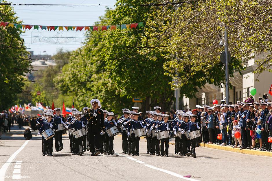 Парад Победы в Севастополе 9 мая 2015