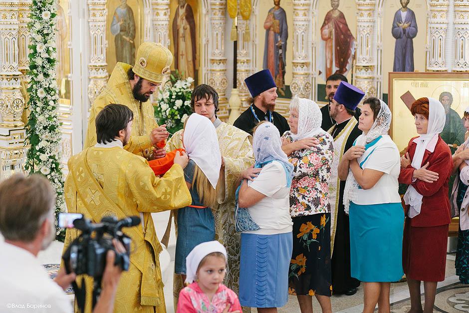 4 августа 2015. открытие храма в Атяше