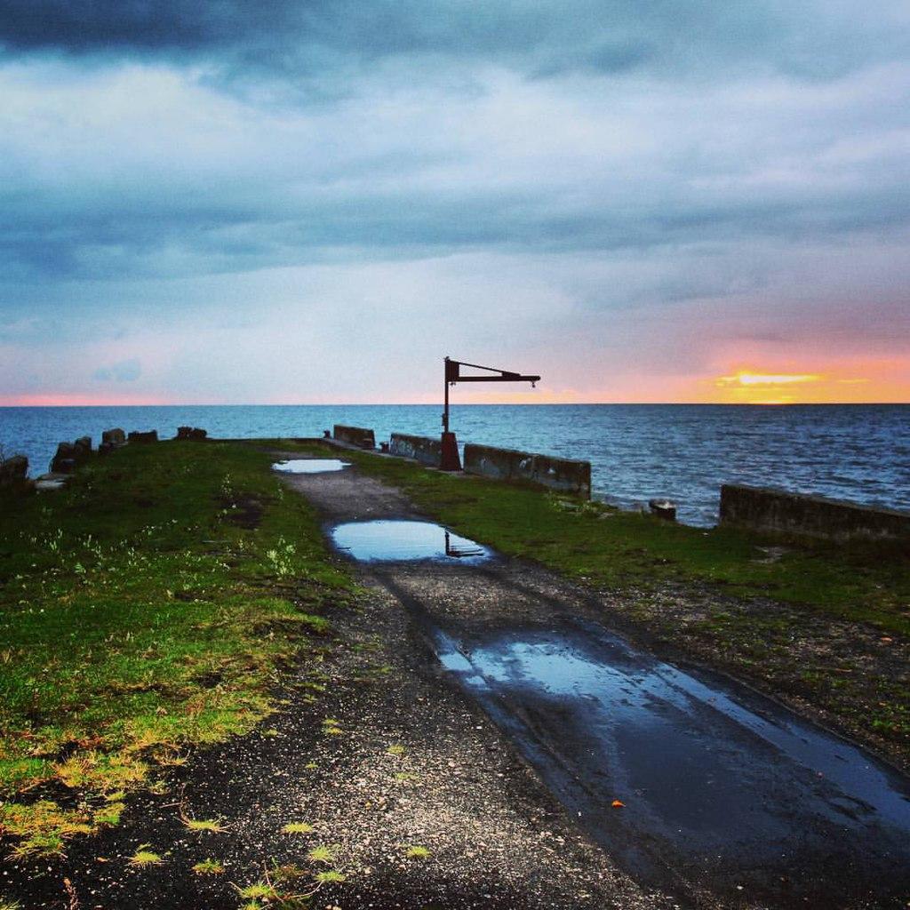 Рассвет на Белом озере Липин Бор